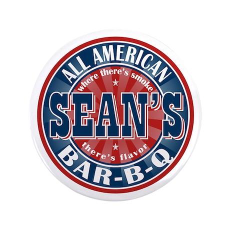 """Sean's All American Bar-b-q 3.5"""" Button (100 pack)"""