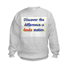 Discover the Difference/ Doul Sweatshirt