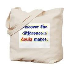 Discover the Difference/ Doul Tote Bag