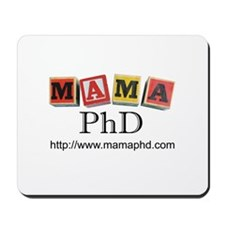 Mama PhD Mousepad