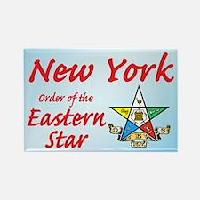 New York Eastern Star Rectangle Magnet (100 pack)