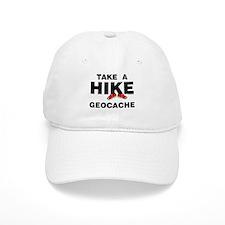 Geocache Hike Baseball Cap
