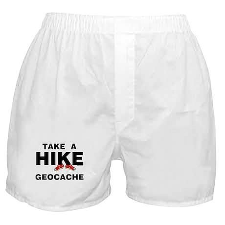 Geocache Hike Boxer Shorts