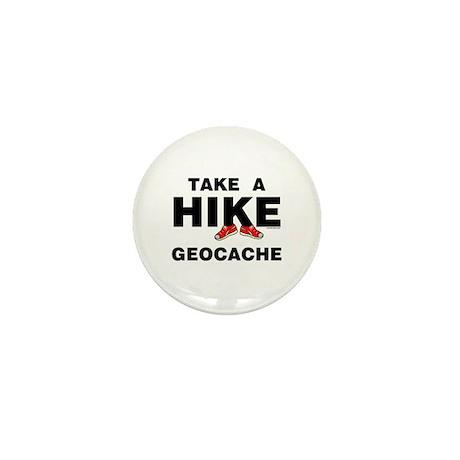 Geocache Hike Mini Button (100 pack)