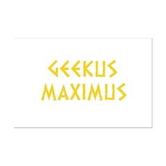 Geekus Maximus Posters