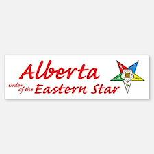 Alberta Eastern Star Bumper Bumper Bumper Sticker