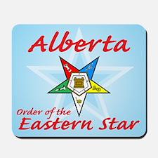 Alberta Eastern Star Mousepad
