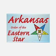 Arkansas Eastern Star Rectangle Magnet (10 pack)
