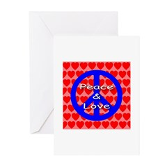 Peace Symbol Greeting Cards (Pk of 10)