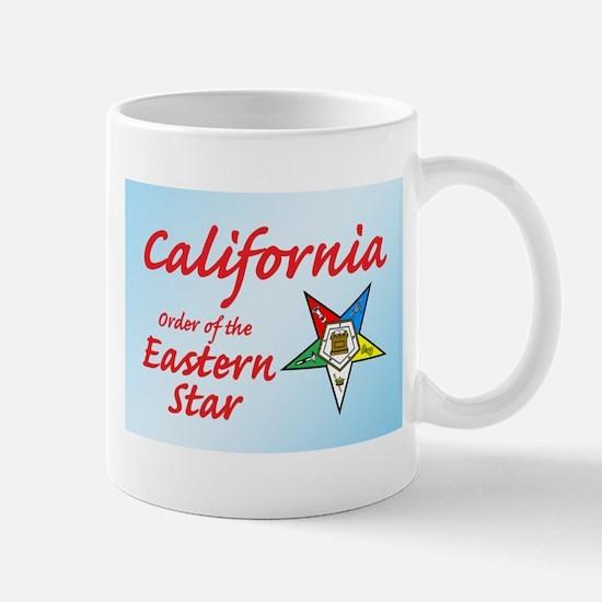 California Eastern Star Mug