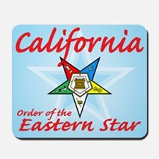 California Eastern Star Mousepad