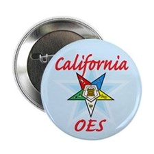 "California Eastern Star 2.25"" Button"