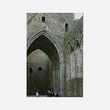 Rock of Cashel Church, Irelan Rectangle Magnet