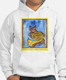 Not a Great Horned Owl Hoodie