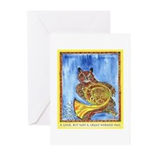 Not a Great Horned Owl Greeting Cards (Pk of 10)