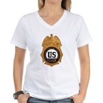 Redrum Homicide Women's V-Neck T-Shirt