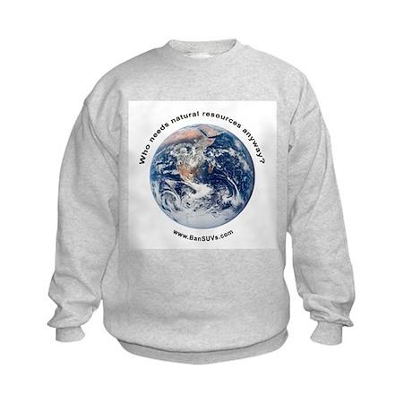Who Needs Resources? Kids Sweatshirt