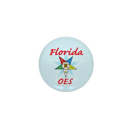 Florida Eastern Star Mini Button