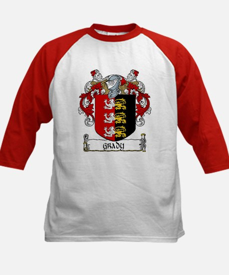 Grady Coat of Arms Kids Baseball Jersey