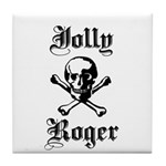 Skull and cross bones Tile Coaster