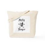Skull and cross bones Tote Bag