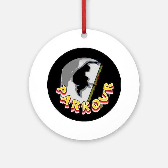 Parkour Ornament (Round)