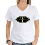 Psych Logo 1 Women's V-Neck T-Shirt