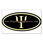 Psych Logo 1 Rectangle Sticker 50 pk)