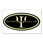 Psych Logo 1 Rectangle Sticker 10 pk)