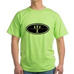 Psych Logo 1 Green T-Shirt