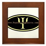 Psych Logo 1 Framed Tile