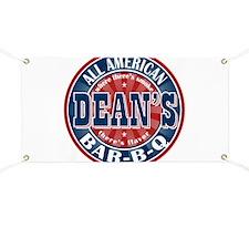 Dean's All American BBQ Banner