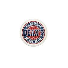 Dean's All American BBQ Mini Button