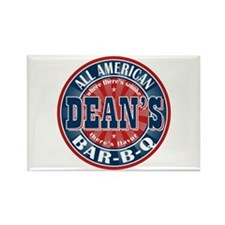 Dean's All American BBQ Rectangle Magnet