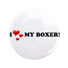 "I Love My Boxer 3.5"" Button (100 pack)"