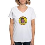 Vietnam Market Time Women's V-Neck T-Shirt