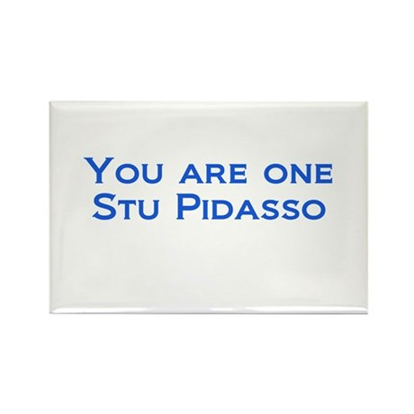 Stu Pidasso 2 Rectangle Magnet (10 pack)