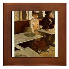 Edgar Degas -L'Absinthe Framed Tile