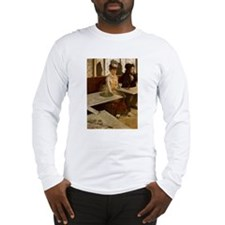 Edgar Degas -L'Absinthe Long Sleeve T-Shirt