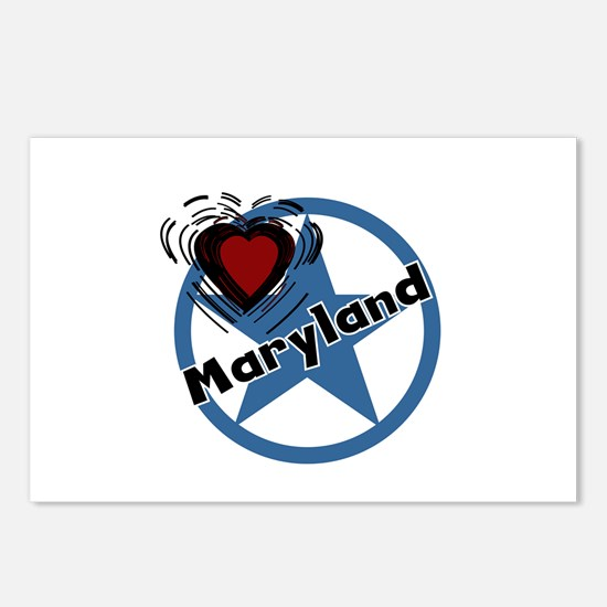 Love Maryland Postcards (Package of 8)
