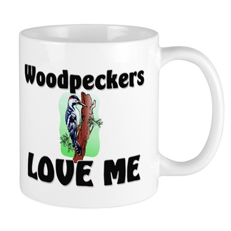 Woodpeckers Loves Me Mug