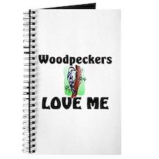 Woodpeckers Loves Me Journal