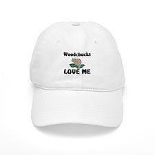 Woodchucks Loves Me Baseball Cap