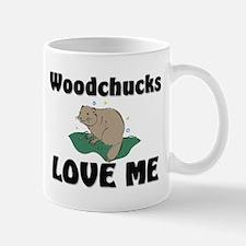 Woodchucks Loves Me Mug