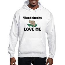 Woodchucks Loves Me Hoodie