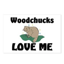 Woodchucks Loves Me Postcards (Package of 8)