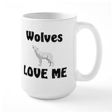 Wolves Loves Me Mug