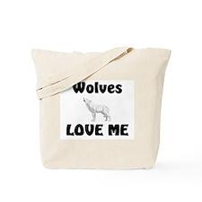 Wolves Loves Me Tote Bag