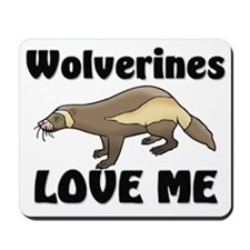 Wolverines Loves Me Mousepad