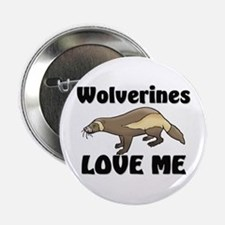"""Wolverines Loves Me 2.25"""" Button (10 pack)"""